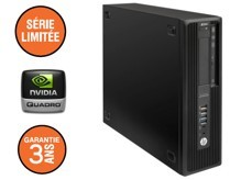 HP Z240 - Core i7 - 8Go - Quadro K420