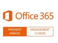 Microsoft Office 365 Business - Paiement annuel