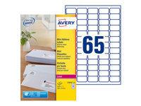 Avery - étiquettes - 25 unités