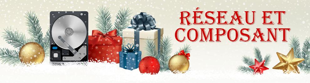 Découvrez notre sélection de composants informatiques pour Noël