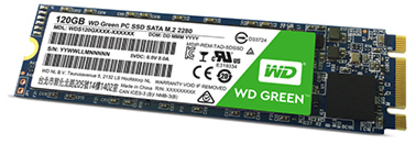 WD Green disque dur pc