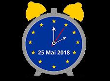 horloge 25 mai 2018