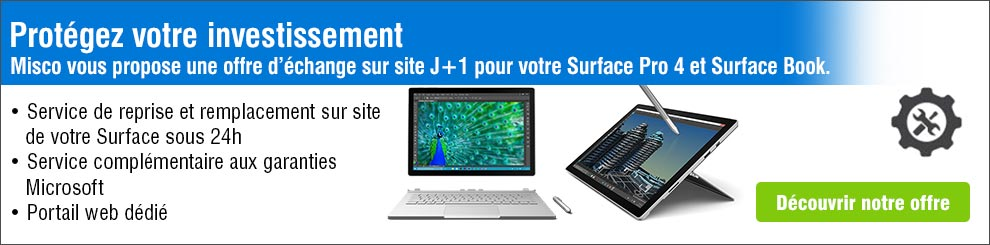 Microsoft Surface offre echange