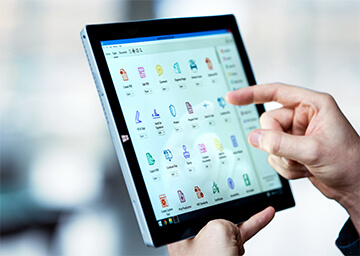 Utilisez Acrobat DC sur tablette