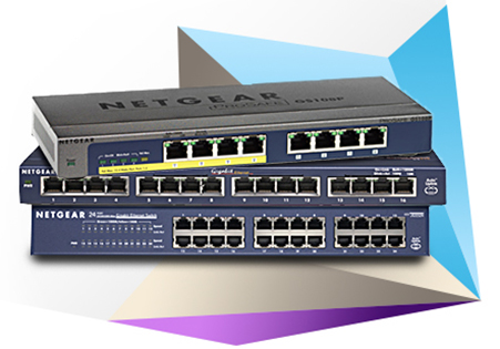switch netgear non manageables