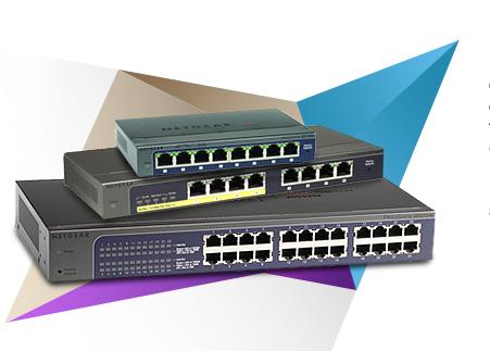 switch netgear web manageables