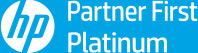 Logo HP Partner First Platinum