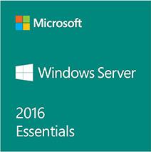 Windows Server 2016 Esentials