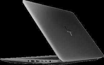 HP ZBook Studio de côté
