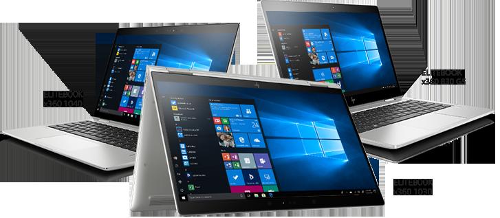 Gamme de PC portable HP EliteBook x360