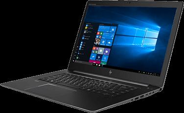 HP ZBook Studio de profil