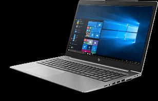 HP ZBook 15u de profil