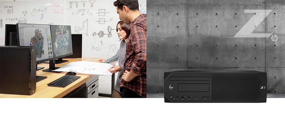 utilisation du HP Z2 G4 sff au bureau