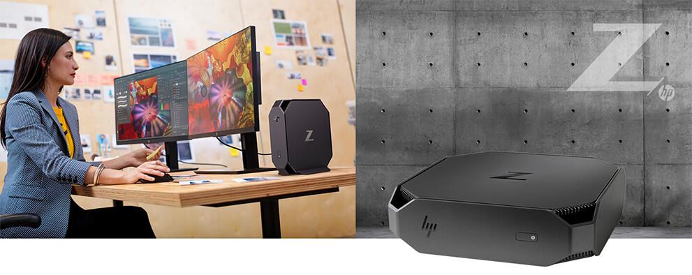 utilisation du HP Z2 mini G4 au bureau