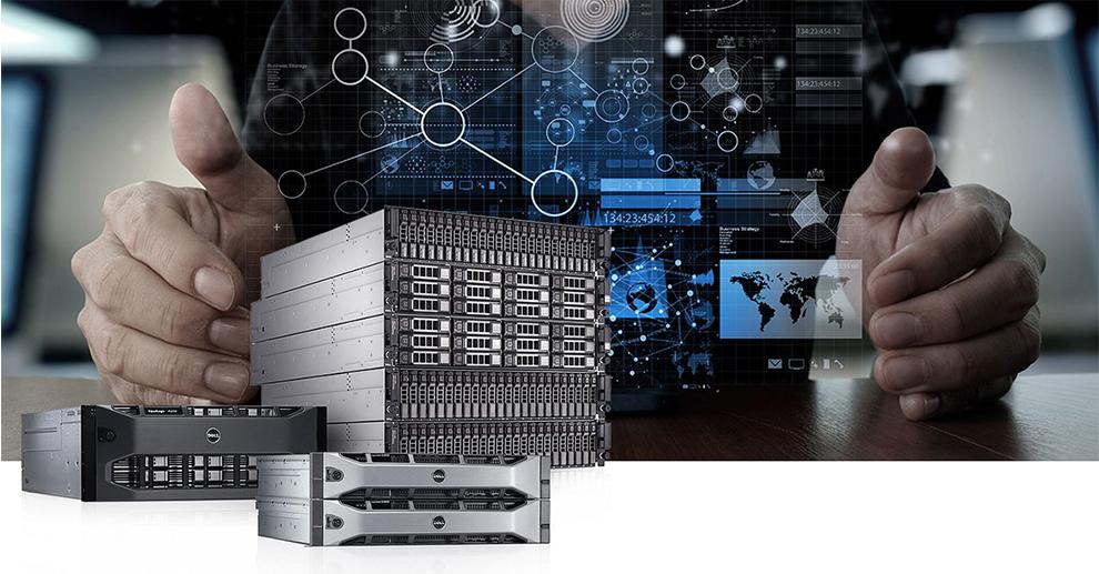 Visuel stockage de données Dell EMC