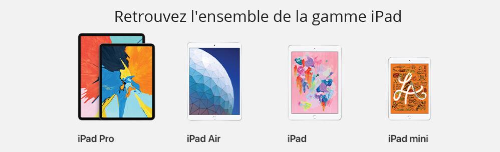 Gamme iPad